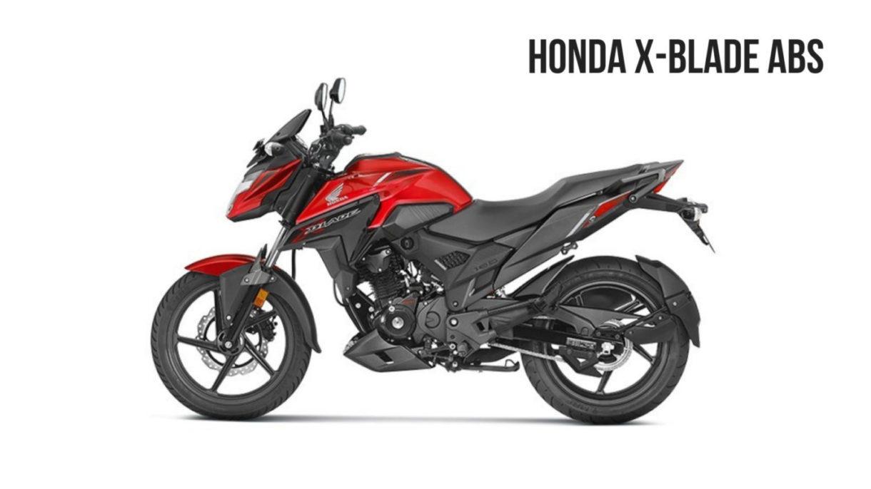 # @ Honda X blade